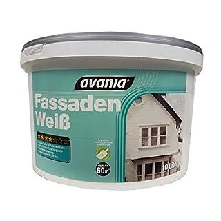 Avania Fassadenweiß Matt 10 Liter