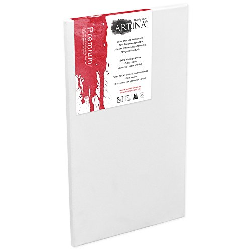 Artina Premium Leinwand auf Keilrahmen 70x120 cm 380g/m²