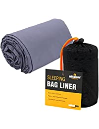Milestone Camping Summer Sleeping Bag Liner - Black