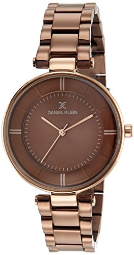 Daniel Klein Analog Brown Dial Women's Watch - DK11467-6