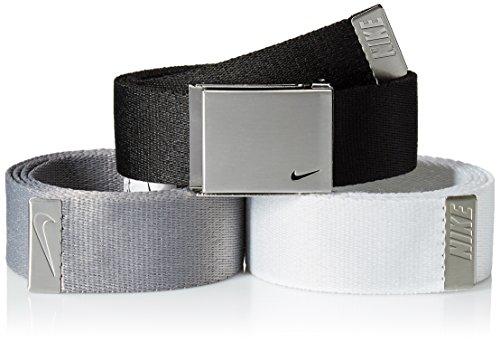 Nike Herren Golfgürtel, 3er-Pack - mehrfarbig - Einheitsgröße -