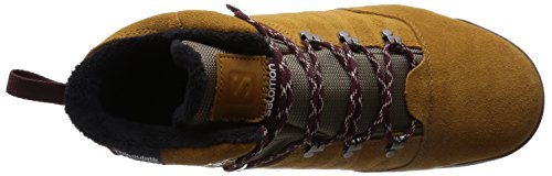 Salomon  Utility Pro TS CSWP, Chaussures de trekking et randonnée homme Marron - Braun (Rawhide Ltr/Shrew/Pinot Noir)