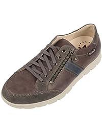 Mephisto - Zapatillas para Hombre Blank, Color Gris, Talla 45 EU
