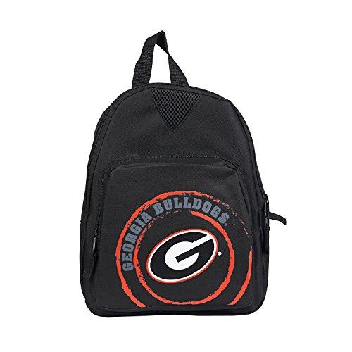 Georgien 12 (Concept One Accessories NCAA Offense Mini-Rucksack, Gepäck, schwarz, 12-Inch)