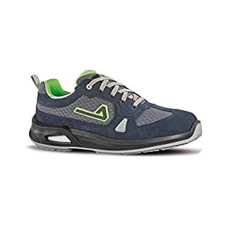 Aimont Men's Vigorex Oxygen Safety Trainers, Grey Navy, 10 UK 44 EU