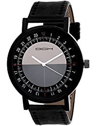 DCH IN-106 Compass Style Black Designer Analogue Watch For Boys & Men