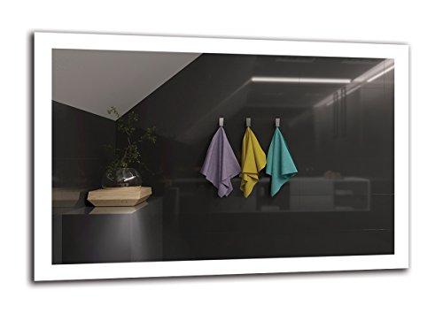 Espejo LED Premium   Dimensiones Espejo 120x80 cm