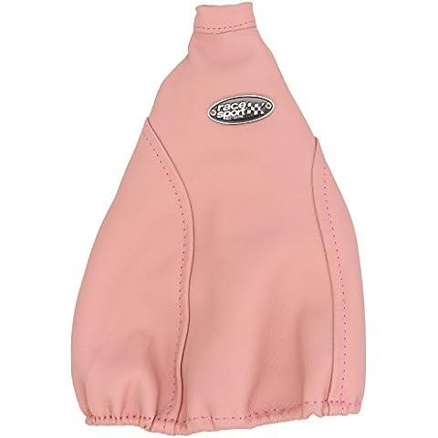 Sumex Bot5600 - Funda Palanca Cambio Piel Natural, Color Rosa