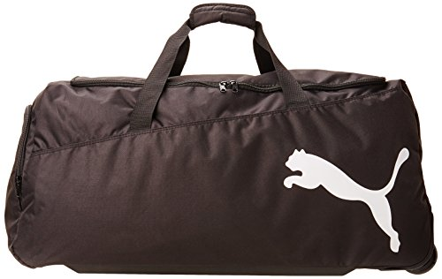 PUMA Sporttasche Pro Training Large Wheel Bag black-White, 65 x 35 x 10 cm -