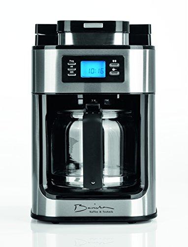 Barista 09925 macchina per caffè automatica con meccanismo di macinazione integrato | 1050watt | acciaio inox | macchina per il caffè | caffettiera | caffè mit 2 kg portorico caffe