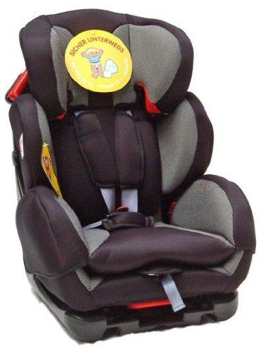 Autokindersitz Babyway von UNITED-KIDS, Kingsilver, Gruppe I/II/III, 9-36 kg
