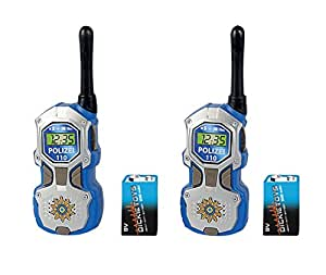 dickie toys police walkie talkie multi colour toys games. Black Bedroom Furniture Sets. Home Design Ideas
