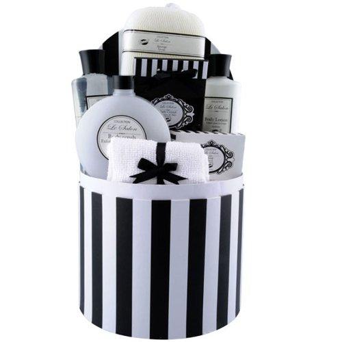 Gardenia-geschenk-set (Gloss Le Salon Badeset Geschenkset Gardenia 7 teiliges, 1er Pack (1 x 1.04 kg) Geschenk-Box - Bade-Geschenk)