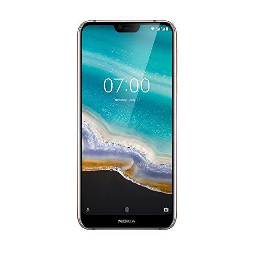"""Foto Nokia 7.1 Smartphone da 32 GB, 3 GB di RAM, Dual SIM, Display da 5.84"""", Full HD+ (2160x1080), Doppia Fotocamera Posteriore da 12 MP + 5 MP, Fotocamera da 8MP, Grigio [Versione Italiana, no Operatore]"""