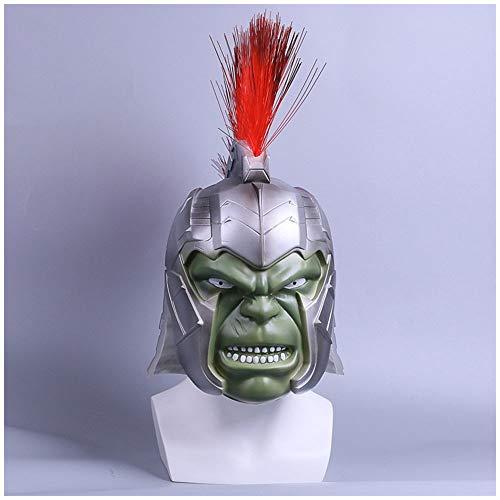 Maske Raytheon 3: Die Götter Abenddämmerung Cos Green Giant Helm Halloween Marvel Filme Hulk Requisiten (Größe : Small)