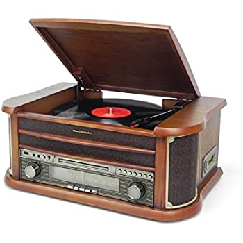 soundmaster nr540 nostalgiecenter ukw mw radio. Black Bedroom Furniture Sets. Home Design Ideas