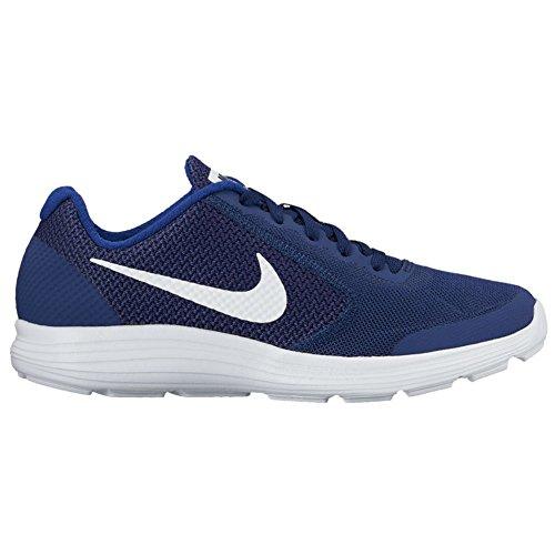 Nike Jungen Revolution 3 (Gs) Turnschuhe Blau (Blau)