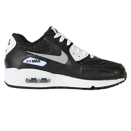 Nike Air Max 90 Premium Mesh (GS) Schuhe white-reflect silver-black - 38,5