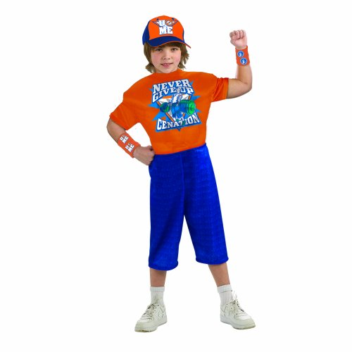 rtainment John Cena Cenation Deluxe Child Costume (Medium) (Wwe Halloween-kostüme Für Kinder)