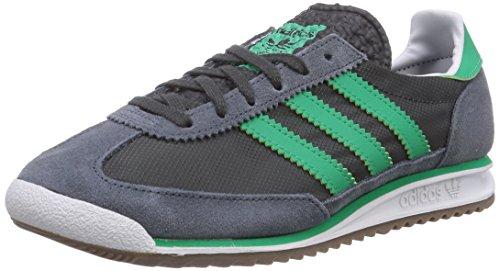 Adidas Originals SL 72, Chaussons Sneaker Adulte Mixte Noir (Onix/Surf Green S15-St/Bold Onix)