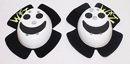 Preisvergleich Produktbild WIZ normale Knieschleifer Weiß mit Schwarzen Smiley