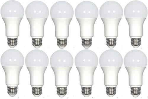 Satco S9837. X12 Modell S9837 mittlere Base LED Glühbirne (12-Pack), neutralweiß, 120 Volt, 9,5 Watt, 9.5A19/OMNI/220/LED/35K Lampe Code -