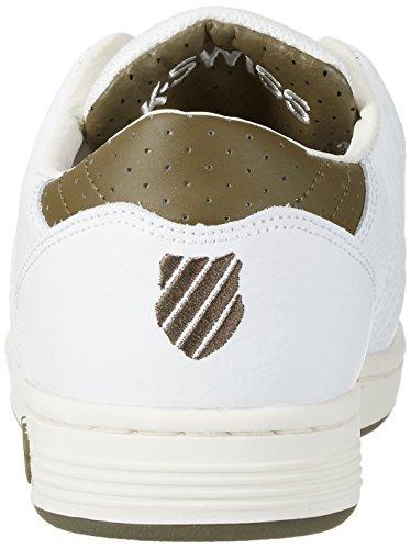 K-Swiss Herren Lozan Iii Tt Sneakers Weiß(WHITE/DARK OLIVE)