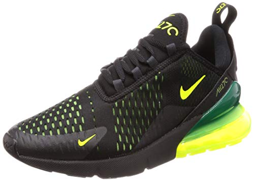 outlet store 5b6bd 307a7 Nike Air Max 270, Scarpe Running Uomo, Multicolore Volt Black Oil Grey