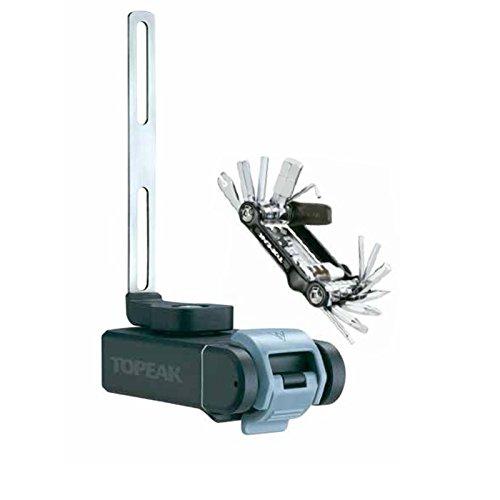 (TOPEAK Ninja T Mountain und Mini 20 Pro Flaschenhalter, Black, 14.5x4.8x9.8 cm)