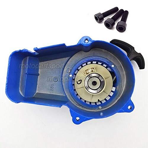 FidgetKute Pull Starter für 47cc 49cc 2-Takt Minimoto Pocket Pit Dirt Bike Quad ATV Blau (Bike Gebrauchte Pocket)