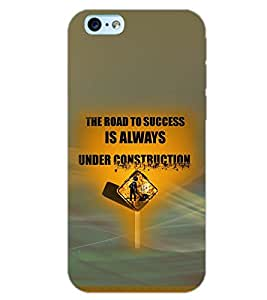 PrintDhaba QUOTE D-7044 Back Case Cover for APPLE IPHONE 6 PLUS (Multi-Coloured)