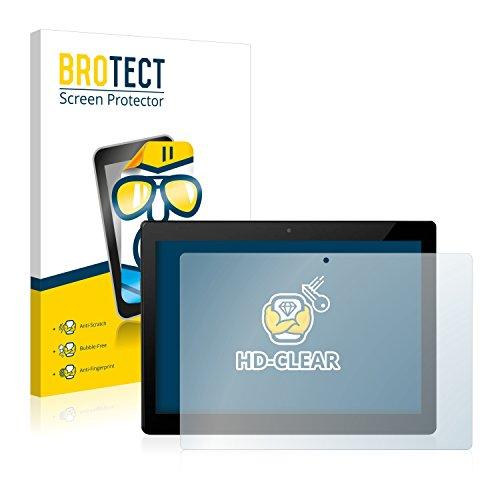 BROTECT Schutzfolie für Allview W10N [2er Pack] - klarer Bildschirmschutz