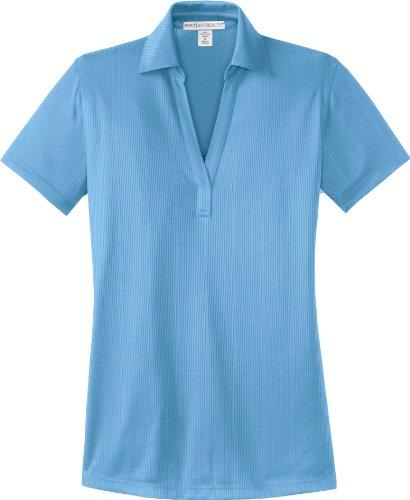 Autorité portuaire femmes Patte T-Shirt de Sport style ouvert bleu océan