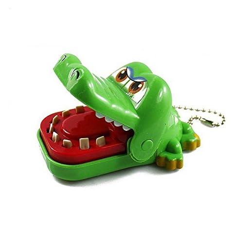 Soccik-Krokodil-Zahnarzt-Spielzeug-Kinderspiel-Mund-Biss-Finger-Spielzeug-Schnap-Spiel-Krokodil-Schlsselring-Schlsselanhnger-Fr-Kinder-Geschenk-Zufllige-Farbe