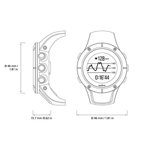 Suunto Spartan Trainer Wrist Hr, dimensiones reloj GPS Suunto