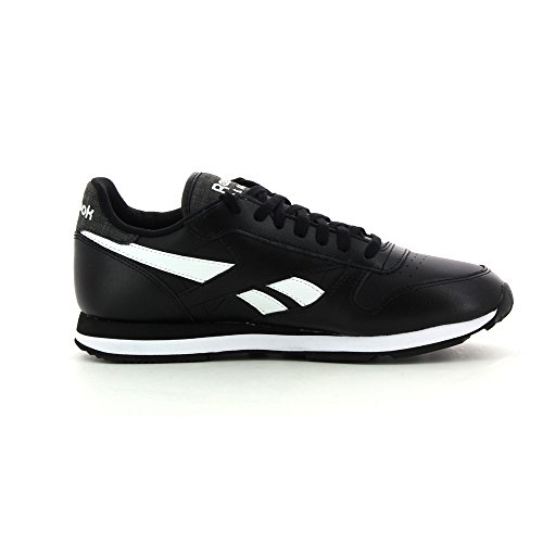Reebok Classic Leather Pop Sc, Herren Sneaker - schwarz
