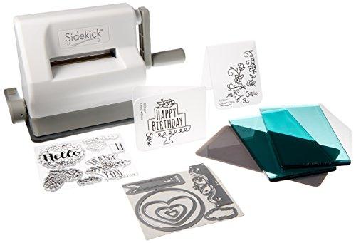 Sizzix 661770 Sidekick Starter Kit, weiß/grau