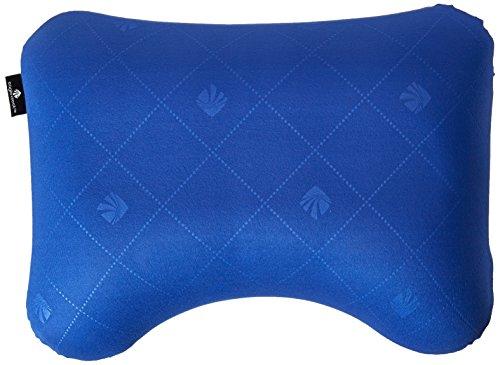 Eagle Creek Reisekissen zum aufblasen Exhale Ergo Pillow leichtes Reisekissen für das Schlafen im Flugzeug, blue sea