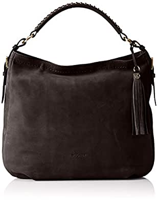 Bogner Women's AISHA Shoulder Bag Grey Grau (mink 383)