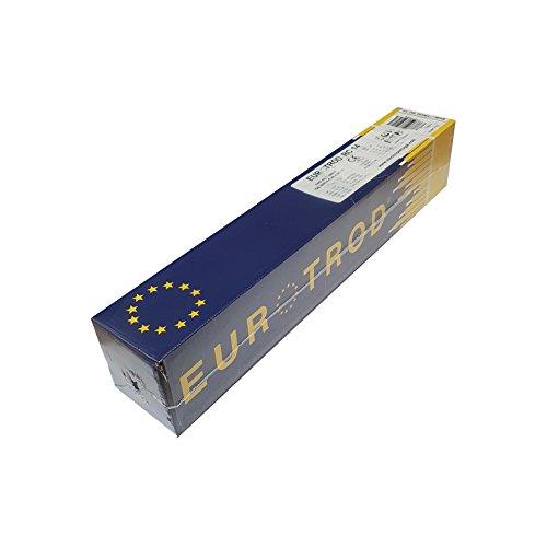 Eurotrod W.0703 RC14 6013 - Electrodo de soldadura (4,6 kg, 4,0 mm de diámetro x 350 mm)