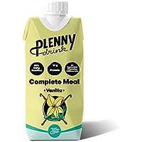 Batido Listo | Plenny Drink | Pack 8 Botellas 330 ml | 20% De La Nutrición Diaria Recomendada.