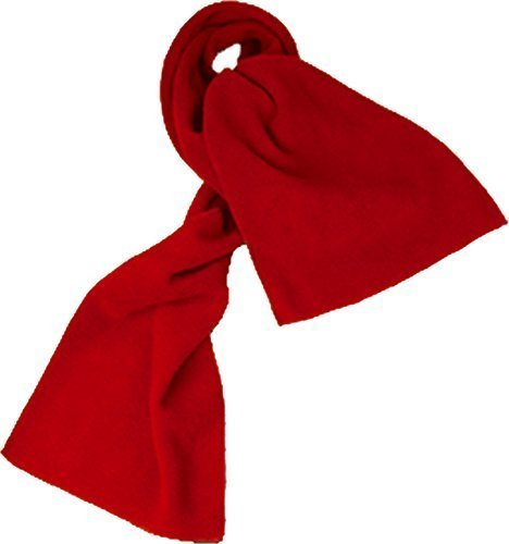 Childs-Fleece-Scarf-Red