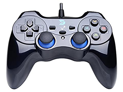 ZD-V+ Vibrations-Feedback verdrahteten USB-Game-Controller Gamepad Joystick Für PC(Windows XP/7/8/8.1/10) &