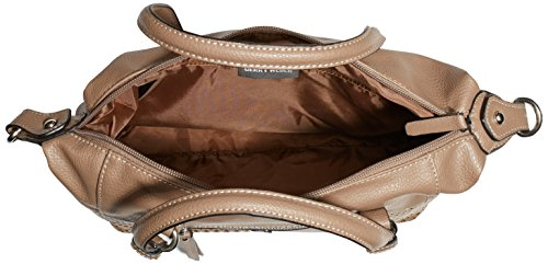 GERRY WEBER - Days Gone By Handbag, Borsa a mano Donna Marrone (Braun (mud 752))