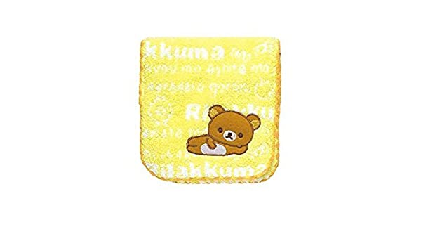 Yellow CM51901 San-X Rilakkuma Pocket Towel