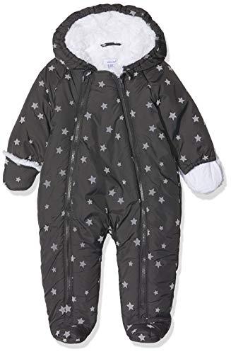 Absorba Boutique Unisex Baby Combinaison De Ski Gris Schneeanzug, Grau (Anthracite 29), 3-6 Monate (Herstellergröße: ()