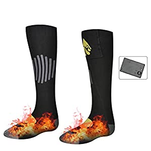 Hete-supply AA-Batterie beheizte Socken, kaltes Wetter Baumwolle Thermosocken batteriebetriebene Heat Sox Winter Fußwärmer Zehen für chronisch kalte Füße