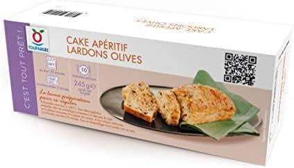 Toupargel Cake Apéritif Lardons Olives 245 g