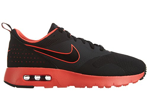 Nike Unisex-Kinder Air Max Tavas Fb (Gs) Low-Top Schwarz (Black/Bright Crimson)