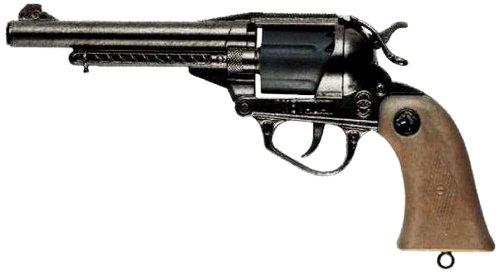 Villa Giocattoli - 1562 - Pistolet 12 Coups - Nevada - en Vieux métal - Vieux métal